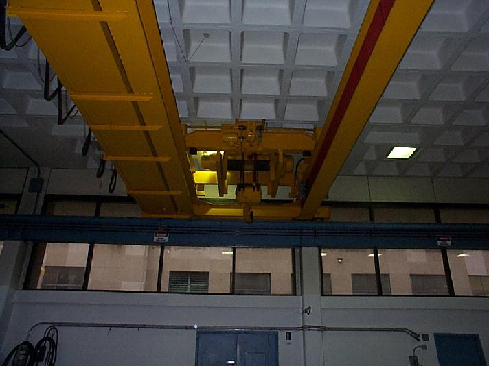 Overhead Crane Assembly : Equipment used in submodule assembly